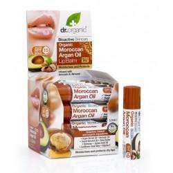 Dr. Organic Ajakbalzsam bioaktív marokkói argánolajjal 5,7 ml