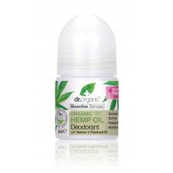 Dr Organic alumíniummentes golyós dezodor bioaktív kendermagolajjal, 50 ml