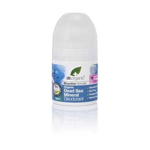 Dr. Organic Alumíniummentes golyós dezodor természetes Holt-tengeri ásványokkal