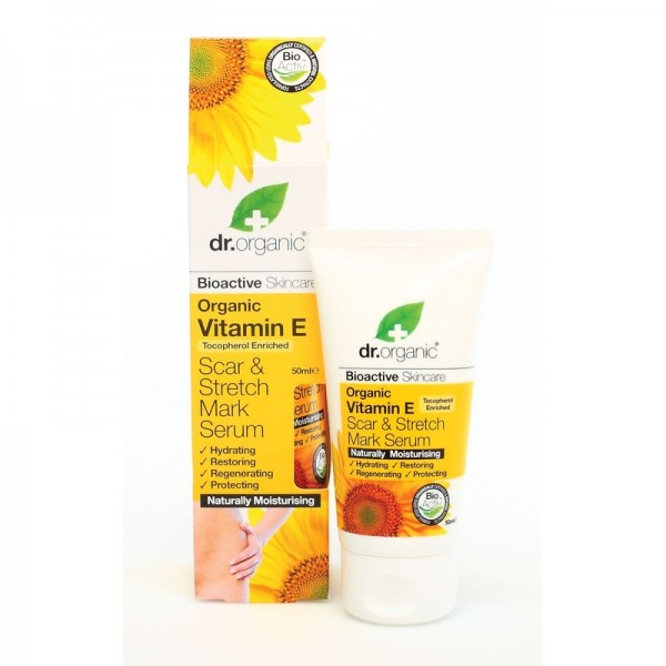 Dr. Organic Bio E-Vitaminos szérum terhességi csíkok ellen