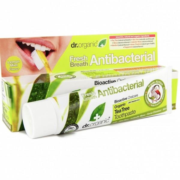Dr. Organic Bio Teafa fogkrém