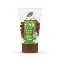 Dr Organic élénkítő arcpakolás bio kávéval, 125 ml