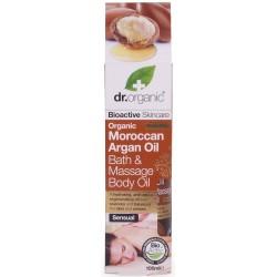 Dr. Organic fürdő-és masszázsolaj marokkói bio argán olajjal