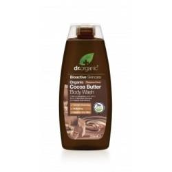 Dr Organic krémtusfürdő bio kakaóvajjal, 250 ml