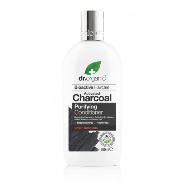 Dr Organic mélytisztító kondicionáló aktív szénnel, 265 ml