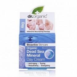 Dr. Organic nappali arcápoló krém természetes Holt-tengeri ásványokkal, 50 ml