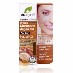 Dr. Organic öregedésgátló arcápoló olaj marokkói bio argán olajjal