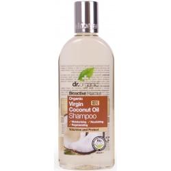 Dr Organic sampon bio szűz kókuszolajjal, 265 ml