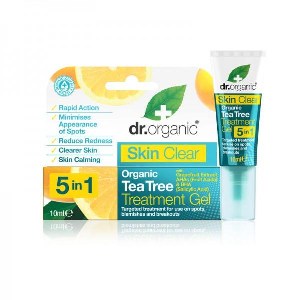 Dr Organic Skin Clear pattanáskezelő gél 5 az 1-ben, 10 ml