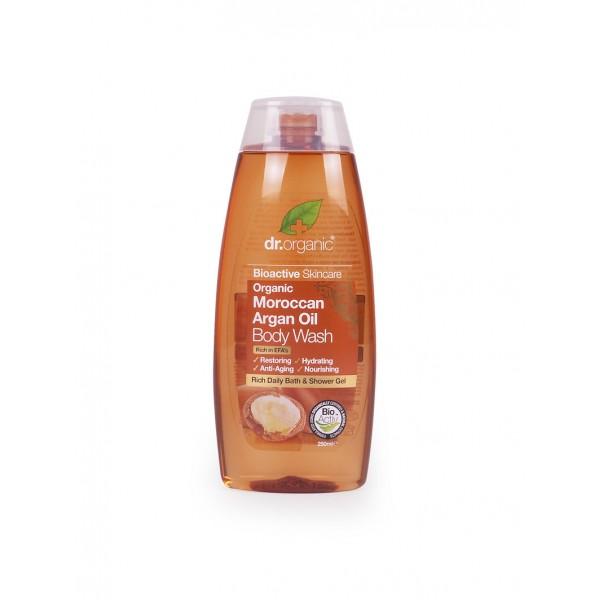 Dr. Organic tusfürdő marokkói bio argán olajjal, 250 ml