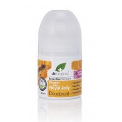 Dr Organic alumíniummentes dezodor bioaktív méhpempővel, 50 ml