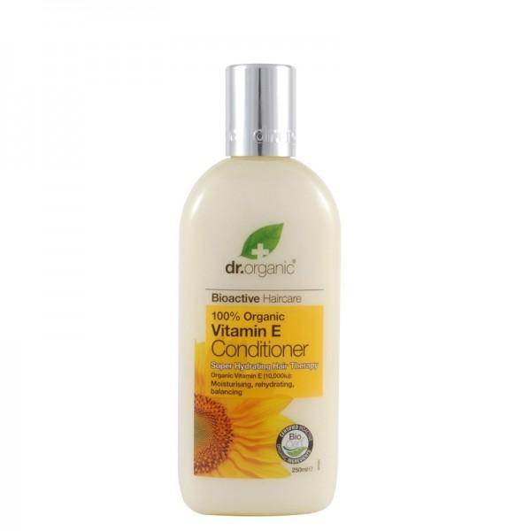 Dr. Organic Bio E-Vitaminos hajkondicionáló, 250 ml