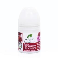 Dr Organic Bio Gránátalma golyós dezodor, 50 ml