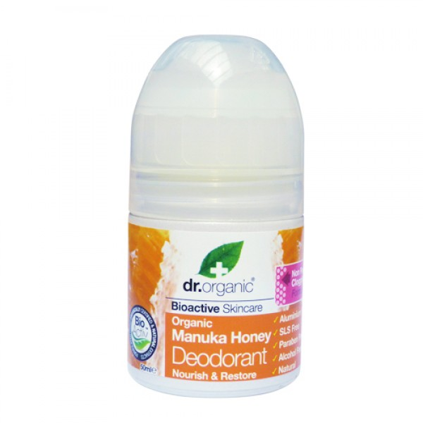 Dr. Organic Bio Manuka mézes dezodor
