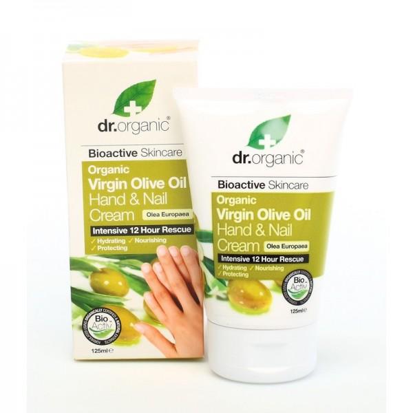 Dr. Organic Bio Oliva kéz- és körömápoló krém