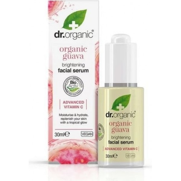Dr. Organic Guava Brightening arcszérum, 30 ml