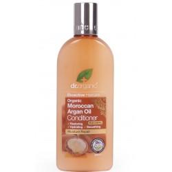 Dr. Organic hajkondicionáló marokkói bio argán olajjal, 265 ml