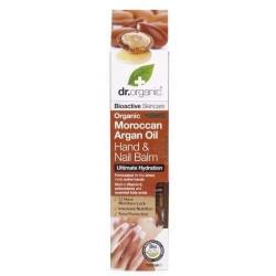 Dr. Organic Hidratáló kéz-és körömápoló balzsam marokkói bio argán olajjal