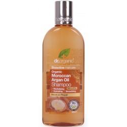 Dr. Organic sampon marokkói bio argán olajjal, 265 ml